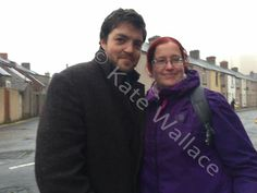 Tom with Kate Wallace