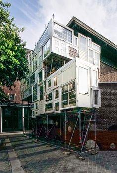 "Stéphane Malka Architecture | ""Bow-House"" | Heerlen, Netherlands | 2014 | http://www.stephanemalka.com"