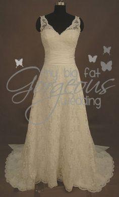 This dress is absolutely amazing! http://www.mybigfatgorgeouswedding.co.uk