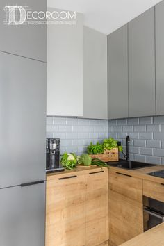 60 Nice Kitchen Layout Design and Lovely Lighting Ideas Kitchen Dinning, Home Decor Kitchen, Interior Design Kitchen, New Kitchen, Home Kitchens, Two Tone Kitchen Cabinets, Kitchen Cabinet Remodel, Diy Decor Room, Urban House