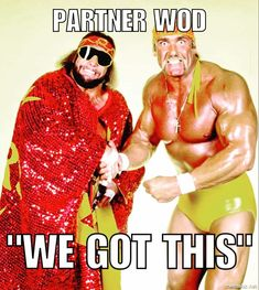 Macho Man and Hulk Hogan Meme