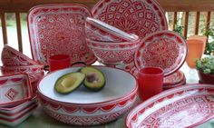 """""""Mallorca"""" Hand-painted Dinnerware Collection"""
