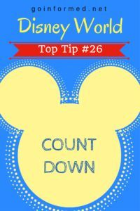 Disney World Top Tip