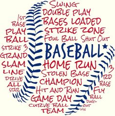When you think about baseball, what words do you think of? When you think about baseball, what words do you think of? Baseball Crafts, Baseball Quotes, Baseball Shirts, Baseball Uniforms, Baseball Tshirt Ideas, Baseball Activities, Baseball Scoreboard, Baseball Tickets, Baseball Wall