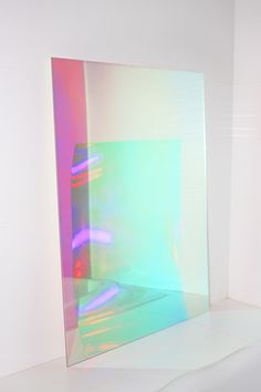 Dichroic Iridescent Window Car Rainbow Film X Sle By Dhl Design Art, Interior Design, Home And Deco, Installation Art, Installation Architecture, Plexus Products, Art Direction, Light Colors, Decoration