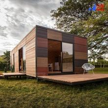 Prefab Container Homes, Container Homes For Sale, Container House Plans, Prefab Log Cabins, Prefab Homes, Modular Housing, Modular Homes, Prefab Buildings, Japanese Tea House