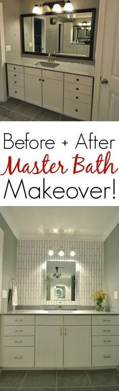 Beautiful Master Bathroom Makeover!