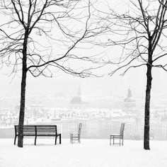 Lyon, in the snow. This is where we will be living. Sooner than you think....