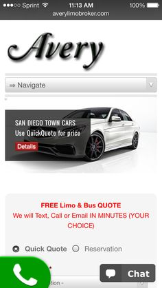 Averylimobroker.com  Brand new website big discounts on rates and $25 off for social share get your transportation quotes today ! At http://averylimobroker.com Fill out a quick quote for any date today and save !