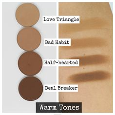 SWATCHES + REVIEW: NEW Makeup Geek Contour Powders (ALL 8 SHADES) – Kitty Kat Does Makeup