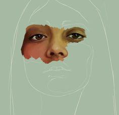 Discover more of the best Portrait, Kemi, Mai, Artnau, and Girl inspiration on Designspiration First Art, Creative Illustration, Digital Illustration, Contrast Art, Art Alevel, A Level Art, Ap Art, High Art, Art Portfolio