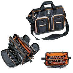 Klein Tools 55417-18 Tradesman Pro Extreme Electrician's Organizer Bag #KleinTools