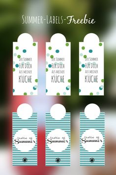 summerlabels free printables by dinchensworld.de