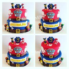 Paw Patrol Theme Party, Paw Patrol Cake, Paw Patrol Birthday, 4th Birthday Parties, Birthday Bash, Imprimibles Paw Patrol, Cumple Paw Patrol, Neymar, Haircuts