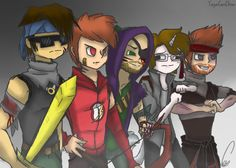 THIS IS SO AWESOME!! This is actually the first fan art I've seen with Max and Red actually in it!! It's amazing!!