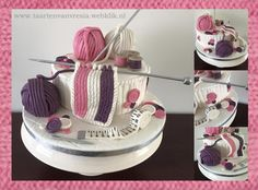 Knitting Cakes Images : Cake knitting pattern ebay