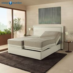 Relax the way you like. #SleepNumber my big dream for me and the princess to share