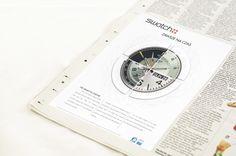 school project of newspaper ad