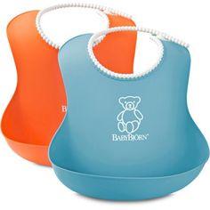 BabyBjorn Soft Bib, 2-Pack - Walmart.com