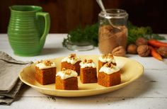 Egg Unlimited Baked carrot cakes