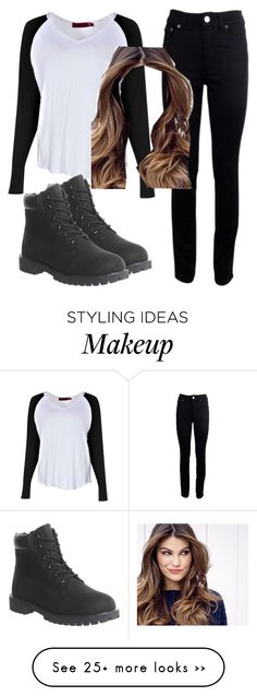 """Untitled #3"" by jennmeas25 on Polyvore featuring Boohoo, Acne Studios, Timberland and ULTA"