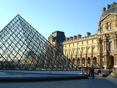 The Louvre~ Paris, France  I will live not too far from this, someday, if I have my way.  Which, I will.