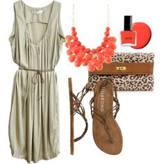Beach Formal, created by miss-gorightry on Polyvore