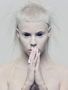 No es albina !!!!!!