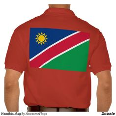 Namibia, flag polo t-shirts