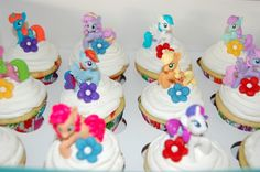 My Little Pony Birthday Cake and Cupcakes - Sweet Blessings...