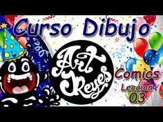 Curso Dibujo Art JReyes Comics 03 - Drawing course - Comics 03 - My Birthday ;) - YouTube