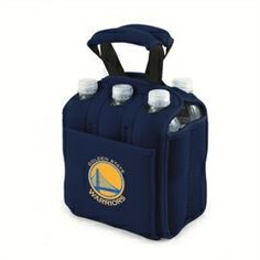 Golden State Warriors 6-Pack Cooler Caddy Tote