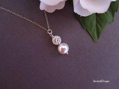 Swarovski Jewelry  Swarovski Pearl and Rhinestone by SnobishDesign, $25.00