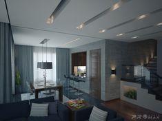 Image result for modern recessed lighting
