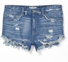 Denim Cutoffs - Coachella Fashion - Free People's 2013 Festival Collection - StyleBistro