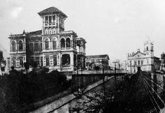 1905 - Palacete Rodovalho no bairro da Penha.