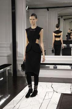 Balenciaga, Fall winter 13-14 collection  ....  i love this   dress  ....