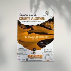 Affiche / Flyer réalisé pour le @centre_development , présentant un voyage dans le désert Algérien pour cette fin octobre... #poster #illustrator #photoshop #behance #dribblers #a3 #flyer #infographic #designer #typography #design #art #99designs #dribble #colorful #artwork #instagram #designs #travel #muslimtravel #agencedevoyages #algerie #desert #tadrart #tadrartrouge Graphic, Designer, Centre, Behance, Photoshop, Artwork, Instagram, Travel Agency, October