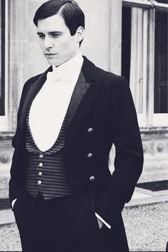 Here's trouble! | More Downton Abbey photos here:  http://mylusciouslife.com/historical-style-downton-abbey-photos/