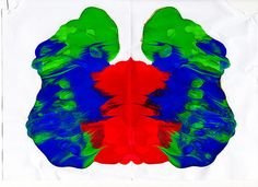 Rorschach Ink Blot Test 002 by Robert James Maclese (2009)
