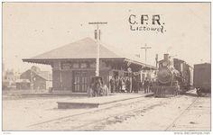 RP: Railroad Train at C.P. Depot , LISTOWEL , Ontario , Canada , 00-10s Item number: 198418475  - Delcampe.com