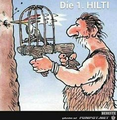 jpg& Eine von 4741 Dateien in der Kategorie… funny picture – the Hilti.jpg – One of 4741 files in the category – Cartoons / Comics & # on FUNPOT. Cartoon Jokes, Funny Cartoons, Funny Comics, Cartoon Drawings, Cute Cartoon, Haha Funny, Funny Shit, Funny Jokes, Hilarious