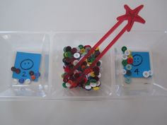 button sorting for fine motor skills and math too!