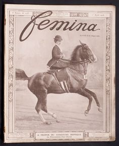 'FEMINA' FRENCH VINTAGE MAGAZINE 1 APRIL 1906 | eBay