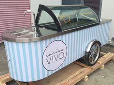 Carts Australia's great range of Gelato carts for your needs. Alternatively Carts Australia can modify their standard X-Line cart into a Gelato Cart Gelato, Ice Cream Cart, Tv Unit, Confectionery, Food Truck, Tray, Australia, Canning, Car Wedding