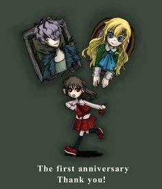 Ib's first anniversary art by Kouri.
