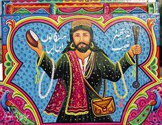 Truck art | Flickr - Photo Sharing! Truck Art Pakistan, Art Deco Illustration, Illustrations, African Crafts, Indigenous Art, Sufi, Art Forms, Trucks, Graphic Design