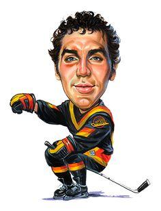 """Dave """"Tiger"""" Williams....the original Tiger ...artwork by www.ExaggerArt.com"""