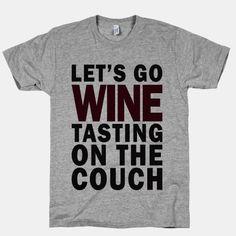 Let's Go Wine Tasting