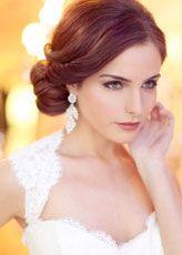 Fryzury do Ślubu: Romantyczny Niski Kok | Pretty Wedding
